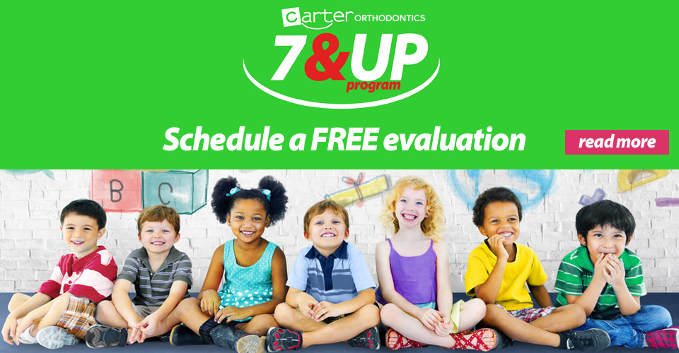 7 & UP Program - Schedule a FREE evaluation