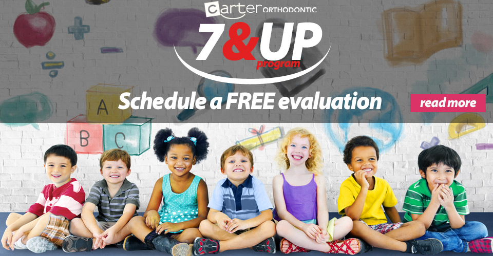 7 & UP Program -  free early evaluation