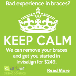 Want to get out of your braces?