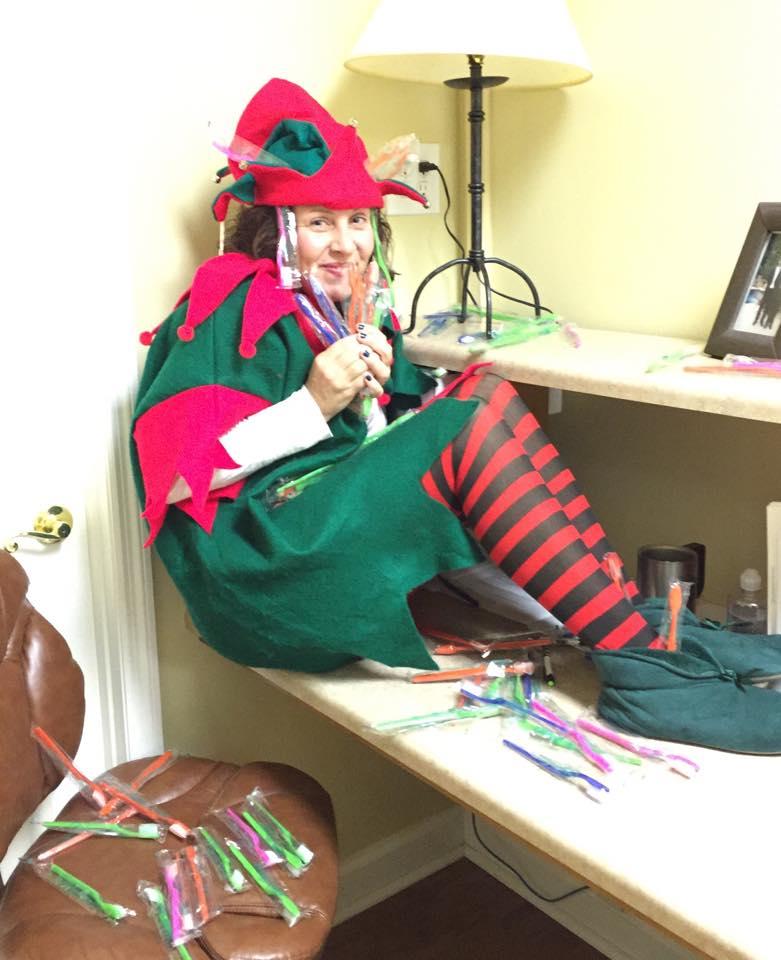"""""""Tricksy"""" the Elf"""