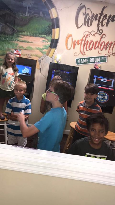 Carter Orthodontics game room
