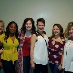 Andrea Posey, Tryg Hodge, Emily Padgett, Dana Aune, Haley Padgett and Cheryl Corley Spense.