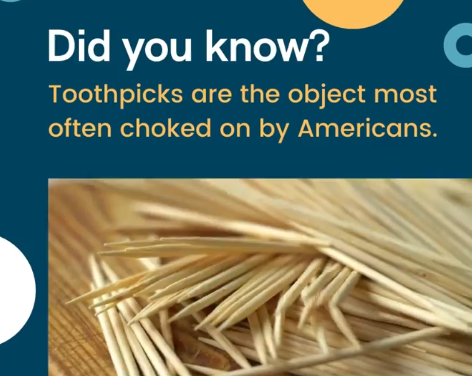 It's about toothpicks or as Gordon Ramsey calls them.....cocktail sticks